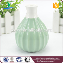 Embossed ceramic small flower vase