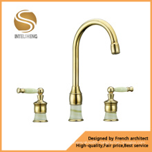Classical Double Handle Basin Faucet (ICD-0307)