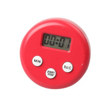 Round Shape Digital Electronics Timer with Magnet
