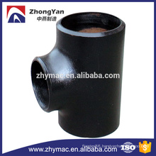 Sch40 carbon steel 6 inch equal tee made in China