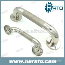 Stainless steel lever pipe door pull handles