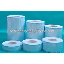Carrete de la esterilización médica de la película azul en Alibaba