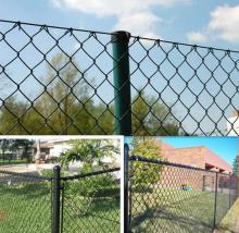 Berkualiti tinggi diamond di pautan wire mesh