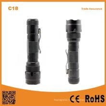 C18 haute puissance 3.7V rechargeable chasse pêche camping lampe de poche