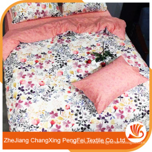 Queen size microfiber fabric bedding set