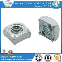 Steel Square Weld Nut DIN 928