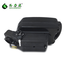 OEM/ODM Custom Capacity Voltage 24v 48v 36v 10ah electric bike li ion battery frog style battery for e-bike