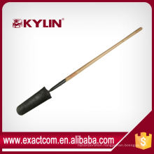 Chinese Shovel Head Drain Spade With Forged Solid Back