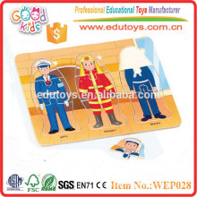 Wooden Occupation Puzzle - Educational Toy
