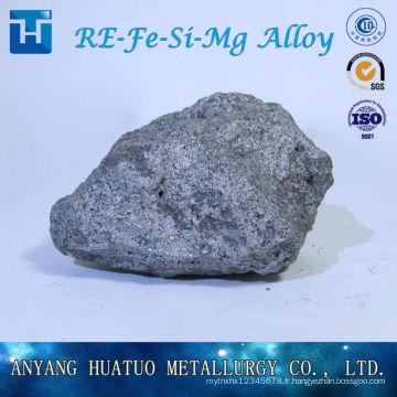 Nodulisant pour la fonderie Terre rare Ferrosilicon Magnésium