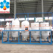 mini máquina da refinaria de óleo, máquina de refino de óleo comestível com 1TPD, 2TPD, 3TPD