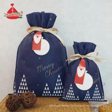 Marine-Weihnachtsgeschenk-Taschen-kundenspezifische Logo-Einkaufstaschen