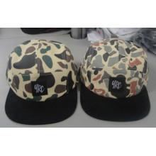 Woven Label 5 Panels Camper Supreme Hat (Justine15)