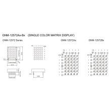 1.2 Inch, 3.0mm DOT (GNM-12572Ax-Bx)