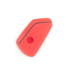 Différentes couleurs disponibles Couverture de clé de voiture en silicone