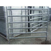 30X60mm Pecuária Gado Painel com Gates / Super Heavy Duty Livestock Gado Quintal Painéis / Cattle Panels Fábrica / 5 Bar Barril de gado 1.6m High Cattle Painel