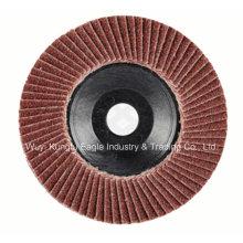 Aluminiumoxid mit Kunststoffabdeckung Flap Disc