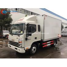 2019 Nouveau camion de stockage de fruits pour réfrigérateur à légumes JAC
