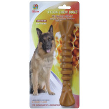 "Percell 7.5 ""Nylon Dog Chew Spiral Bone Honey Scent"
