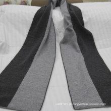 Caxemira de lenço de malha de alta qualidade, cachecol 100% cachemira