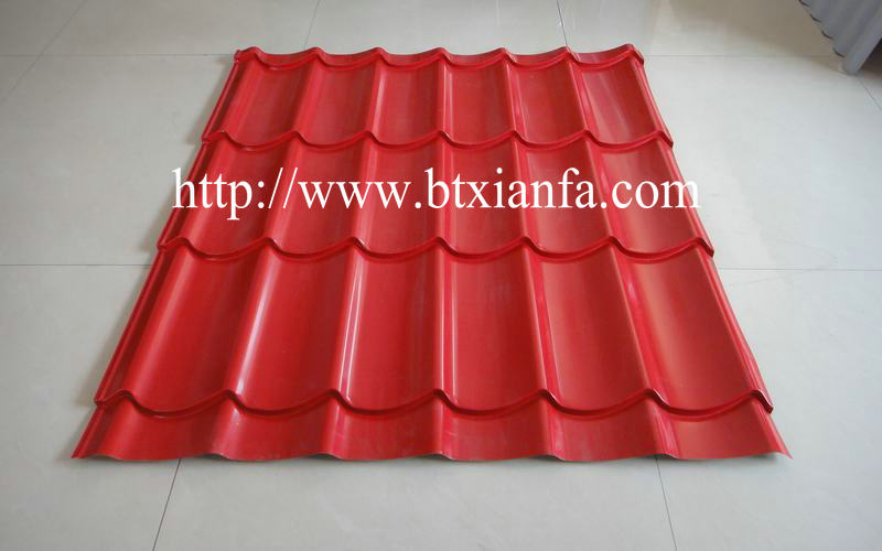 steel roof tile forming machine