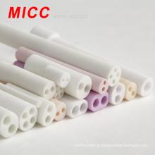 Tubos cerâmicos MICC Alumina com orifícios