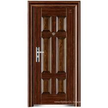 Customized Colour Panel Design Steel Security Door