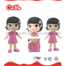 Cartoon Plastic Girl Toy for Kids (CB-PM011-S)