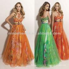 Нью-Йорк-2346 милая декольте органзы quinceanera платье
