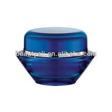 UFO acrílico jar para embalagem de cosméticos
