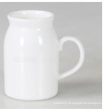 Caneca de leite de porcelana (CY-P847C)