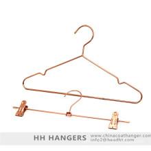 Percha rosa oro suspensión de ropa de moda Color cobre Metal