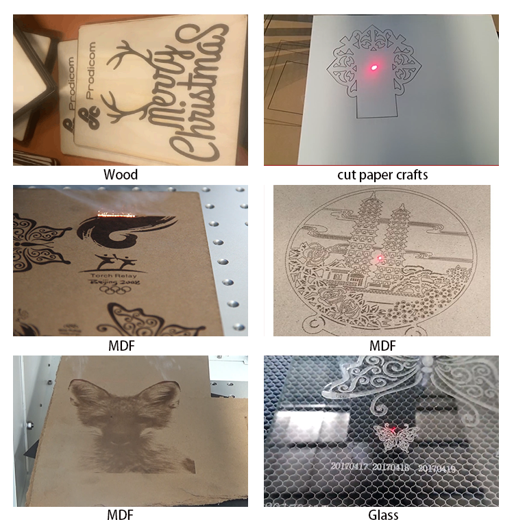 co2 rf laser marking machine