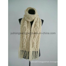fashion Handmade Acrylic Knitted Crochet Scarves, Scarf