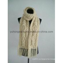 Bufandas hechas a mano del ganchillo del ganchillo de la manera, bufanda
