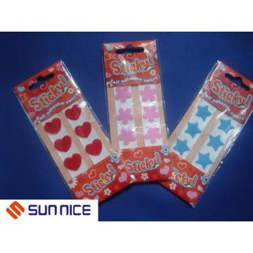 Customized Shape Adhesive Straps Backing Glue