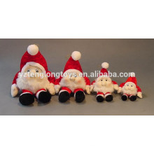Custom Christmas toys plush Santa Claus toys stuffed Santa Claus toy
