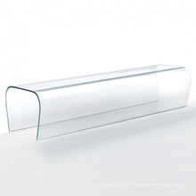 10mm 12mm Customized Shaped Hot Bent Glass for Building