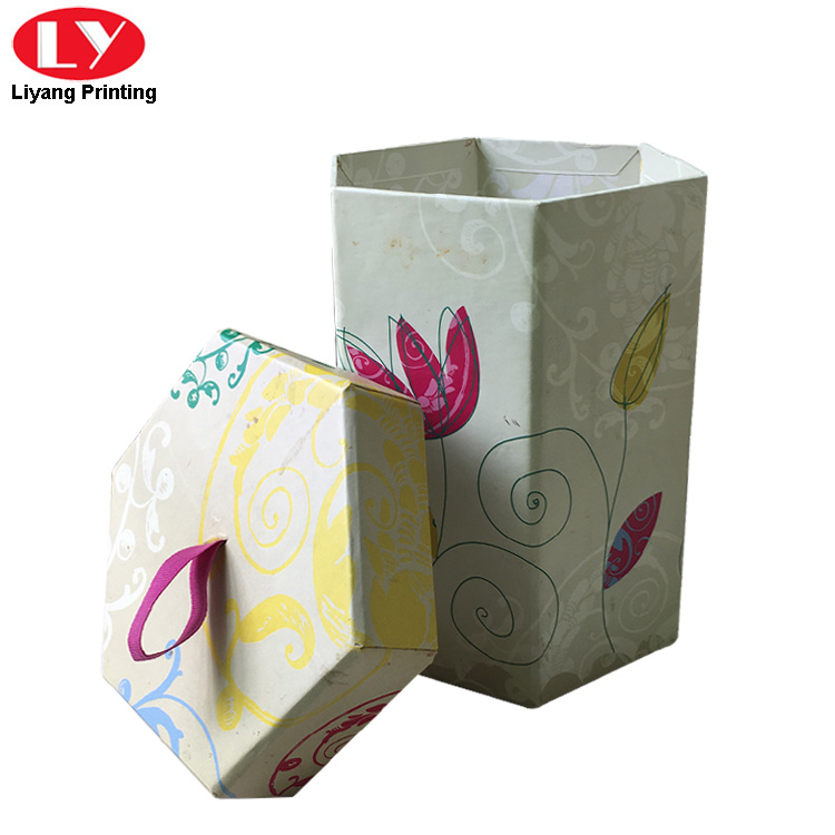 Hexagonal Gift Box 3