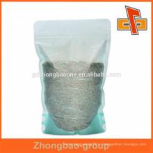 2015 горячего типа продажи бумажный мешок перспективы материала риса бумажный мешок для травяной пакет