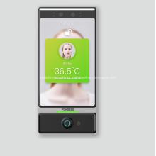 Sistema de controle de acesso à tela de toque de temperatura do pulso