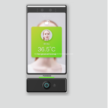 Porte vivante de tourniquet de visage de scanner de température de reconnaissance faciale