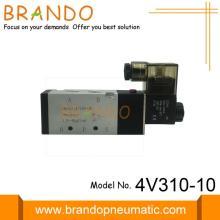 Пневматические электромагнитные клапаны 4V310-10 с пневматическим приводом