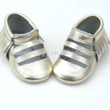 New design casual baby shoes toddler infant leather lovely shoes