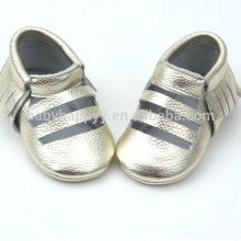 Novo design casual sapatos de bebê infantil infantil couro sapatos adoráveis
