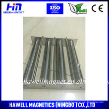 grate magnetic bar for separator