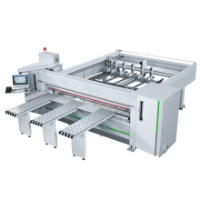 CNC Woodworking Cutting Panel Sliding Table Saw Machine