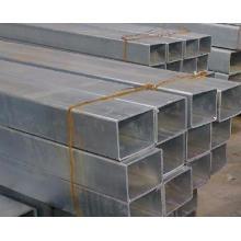 BS1387 hueco cuadrado con tubo de acero revestido galvanizado
