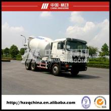 Camión mezclador de cemento nuevo, camión concreto avanzado (HZZ5250GJBDF) con alta seguridad para los compradores