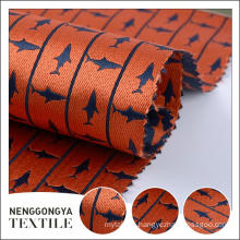 Custom logo Different kinds of Comfortable yarn dyed fabric jacquard